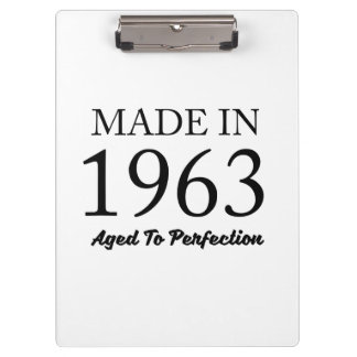 Made In 1963 Clipboard