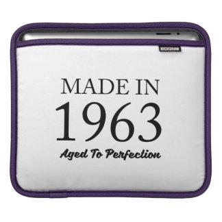 Made In 1963 iPad Sleeve
