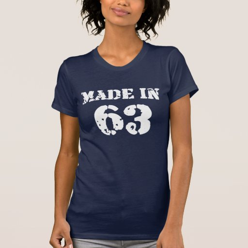 Made In 1963 Shirt T Shirts