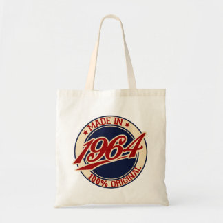 Made In 1964 Budget Tote Bag