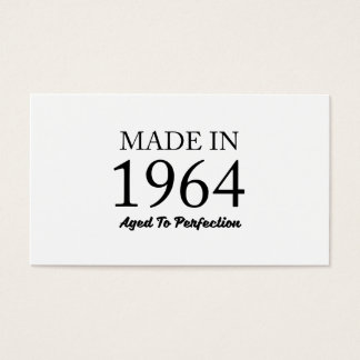 Made In 1964 Business Card