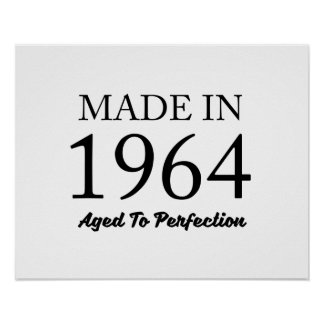 Made In 1964 Poster