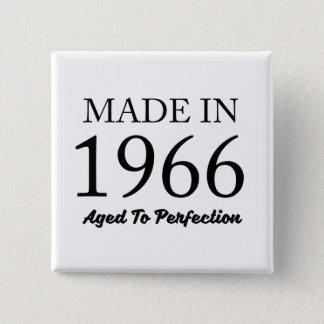 Made In 1966 15 Cm Square Badge