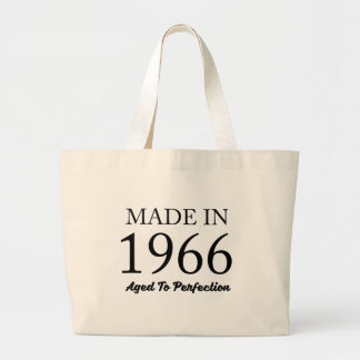 Made In 1966 Large Tote Bag