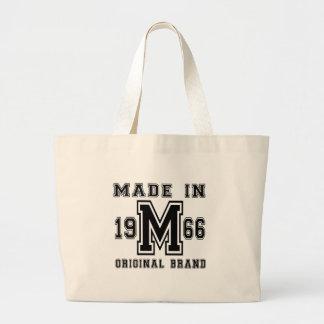 MADE IN 1966 ORIGINAL BRAND BIRTHDAY DESIGNS LARGE TOTE BAG