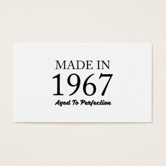 Made In 1967 Business Card