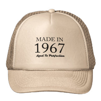 Made In 1967 Cap