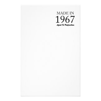 Made In 1967 Stationery