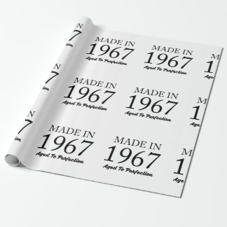 Made In 1967 Wrapping Paper