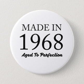 Made In 1968 7.5 Cm Round Badge