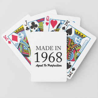 Made In 1968 Bicycle Playing Cards