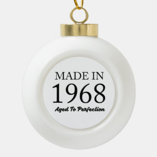 Made In 1968 Ceramic Ball Decoration