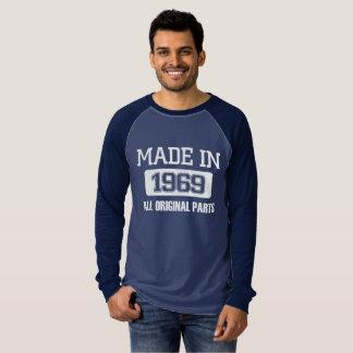 Made In 1969 Long Sleeve Raglan Shirt