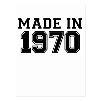 MADE IN 1970.png Postcard