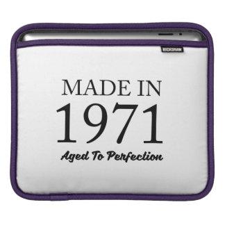 Made In 1971 iPad Sleeve