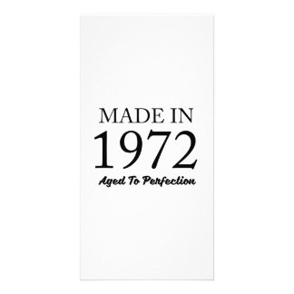 Made In 1972 Photo Card