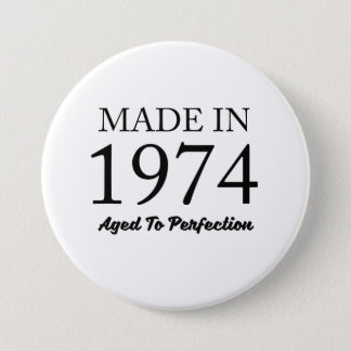 Made In 1974 7.5 Cm Round Badge