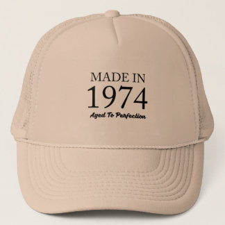 Made In 1974 Trucker Hat