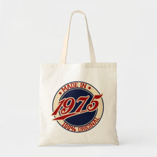 Made In 1975 Budget Tote Bag