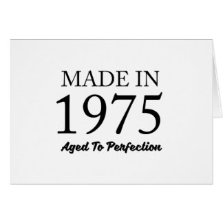 Made In 1975 Card