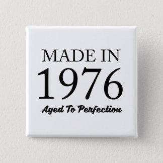 Made In 1976 15 Cm Square Badge