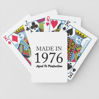 Made In 1976 Bicycle Playing Cards