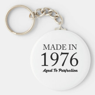 Made In 1976 Key Ring