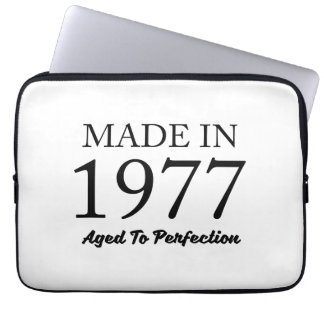 Made In 1977 Laptop Sleeve