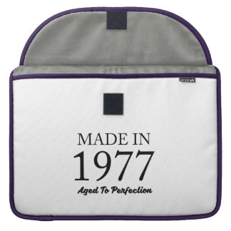 Made In 1977 Sleeve For MacBooks