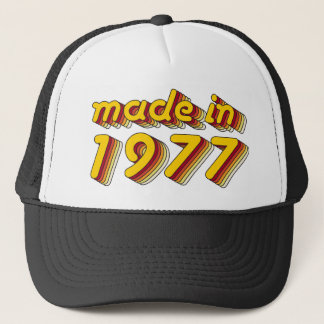 Made in 1977 (Yellow&Red) Trucker Hat