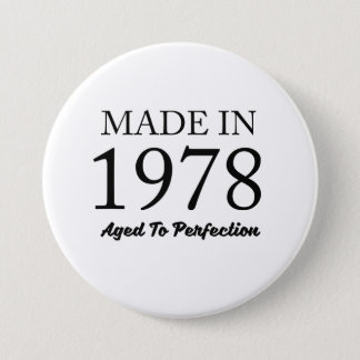 Made In 1978 7.5 Cm Round Badge