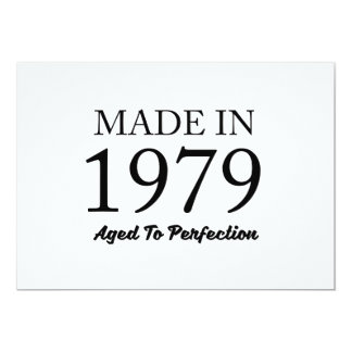 Made In 1979 Card