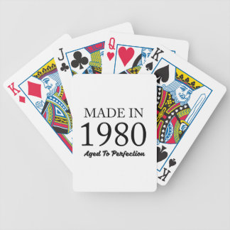 Made In 1980 Bicycle Playing Cards