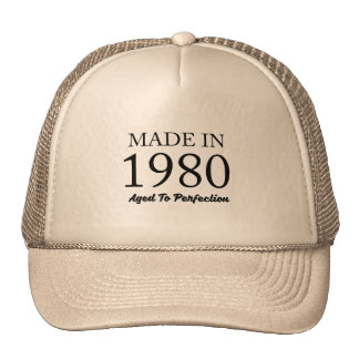 Made In 1980 Cap