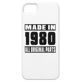 Made in 1980 barely there iPhone 5 case