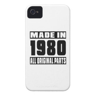 Made in 1980 iPhone 4 covers