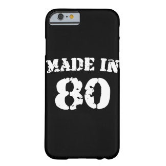 Made In 1980 iPhone 6/6s Barely There iPhone 6 Case