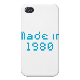 made in 1980 shirt covers for iPhone 4