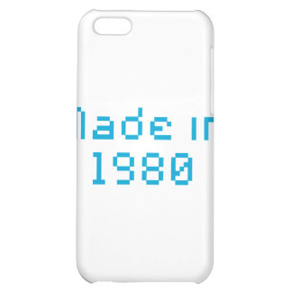 made in 1980 shirt iPhone 5C case