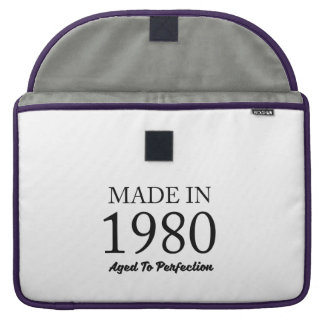 Made In 1980 Sleeve For MacBooks