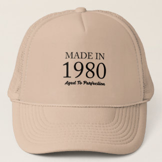 Made In 1980 Trucker Hat