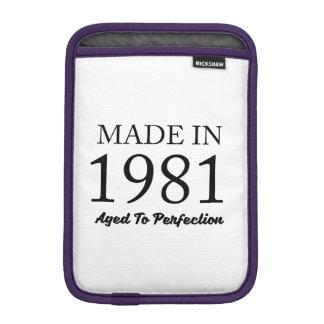 Made In 1981 iPad Mini Sleeve