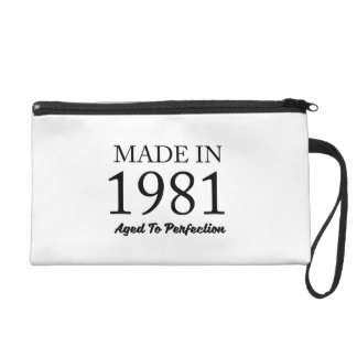 Made In 1981 Wristlet
