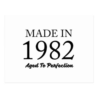 Made In 1982 Postcard