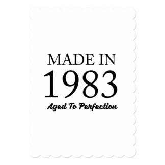 Made In 1983 Card