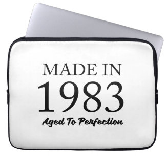 Made In 1983 Laptop Sleeve