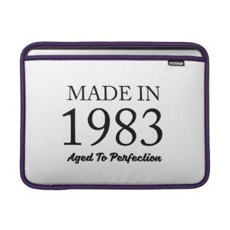 Made In 1983 MacBook Sleeve