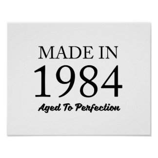 Made In 1984 Poster