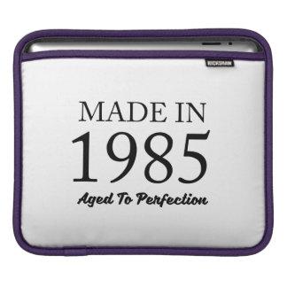 Made In 1985 iPad Sleeve
