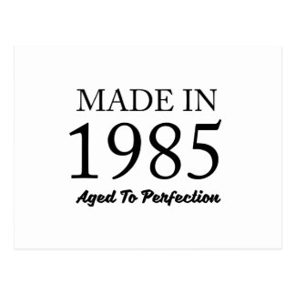 Made In 1985 Postcard